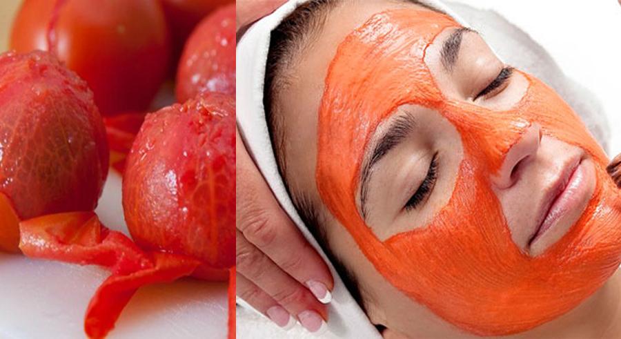 Đắp mặt nạ cà chua - sữa chua giúp da trắng sáng hơn