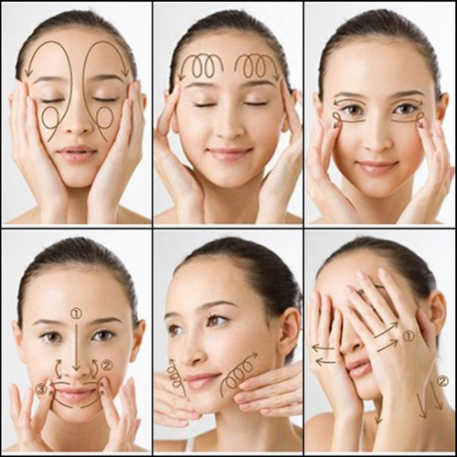 Một bí mật kháccho làn da trẻ trung là massage da mặt