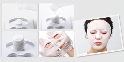 """Mặt nạ """"lotion"""" là một thương hiệu của sản phẩm chăm sóc da Nhật Bản"""